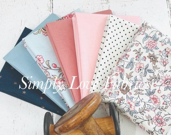 Jane Austen at Home - Fat Quarter Bundle (7 Fabrics) by Riley Blake Designs