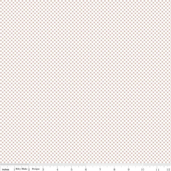 Kisses- 1/2 Yard Increments, Cut Continuously- SC220 Rose Gold (in Sparkle Cotton) by Doodlebug Design Inc. for  Riley Blake Designs
