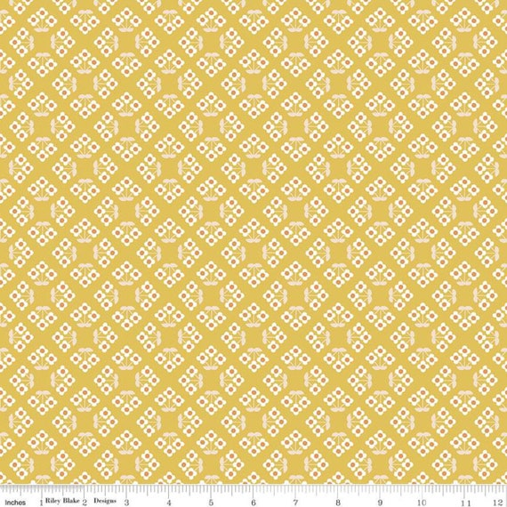 Community- 1/2 Yard Increments, Cut Continuously (C11104 Honey Patch) by Citrus and Mint Designs for Riley Blake Designs