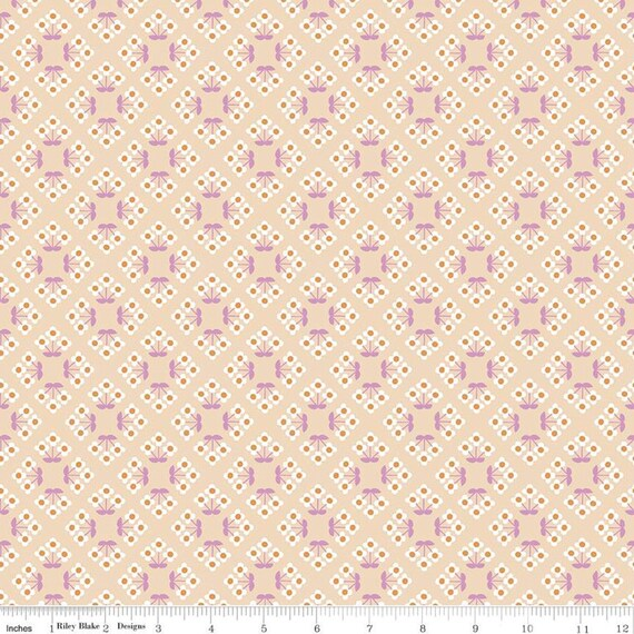 Community- 1/2 Yard Increments, Cut Continuously (C11104 Blush Patch) by Citrus and Mint Designs for Riley Blake Designs