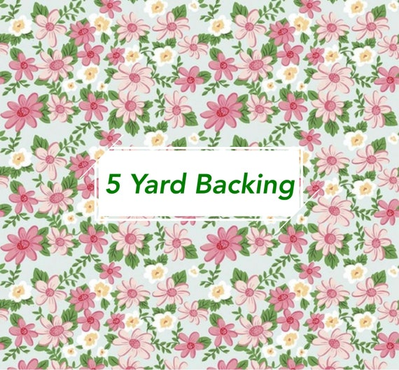 5 Yard Backing -Summer Picnic - C10750 Bleached Denim Main by Melissa Mortenson for Riley Blake Designs