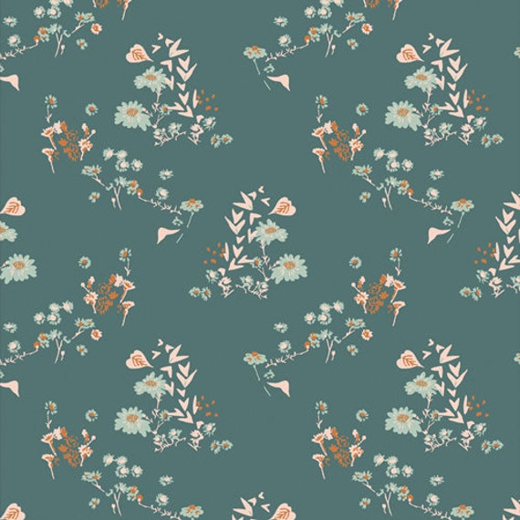 Bookish- 1/2 Yard Increments, Cut Continuously- (Camomile Bliss Fresh 63515) by Sharon Holland for Art Gallery fabrics