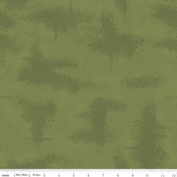 NEW Shabby- 1/2 Yard Increments - Cut Continuously (C605 Moss) by Lori Holt of Bee In My Bonnet for Riley Blake Designs
