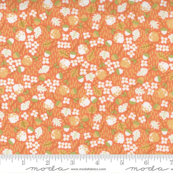 Cozy Up- 1/2 Yard Increments, Cut Continuously (29122 12 Scattered Ditsy Cinnamon) by Corey Yoder for Moda Fabrics