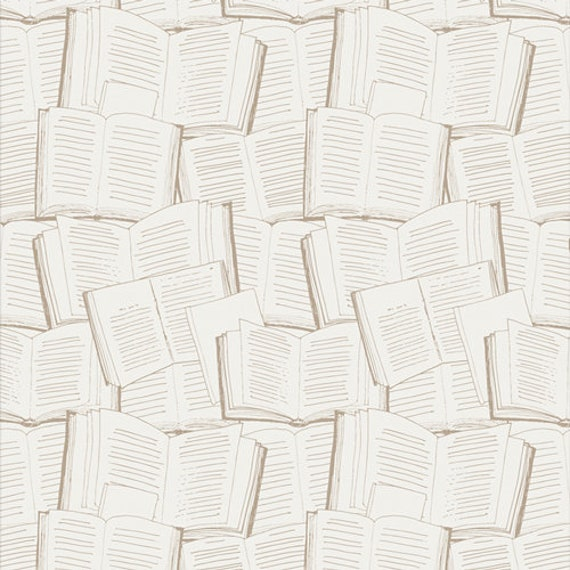 Bookish- 1/2 Yard Increments, Cut Continuously- (Page Turner 63512) by Sharon Holland for Art Gallery fabrics