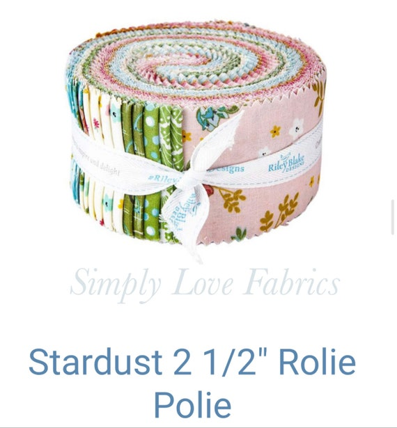 Stardust- Rolie Polie -(RP-10500- 40 Fabrics) by Beverly McCullough for Riley Blake Designs