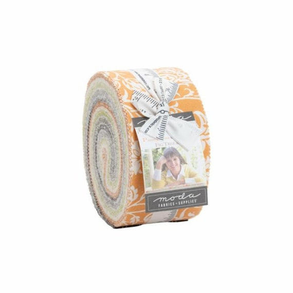 Pumpkins and Blossoms- Jelly Roll (20420JR- 40 fabrics) by Fig Tree for Moda