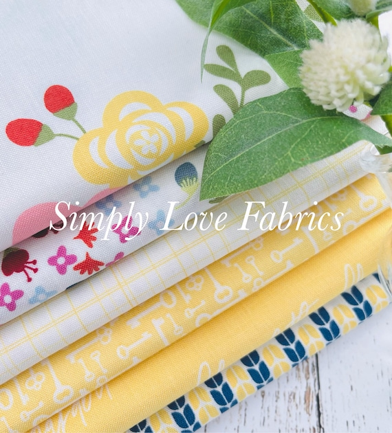Bloom and Grow- 1/2 Yard Bundle (6 Fabrics) by Simple Simon and Co. for Riley Blake Designs