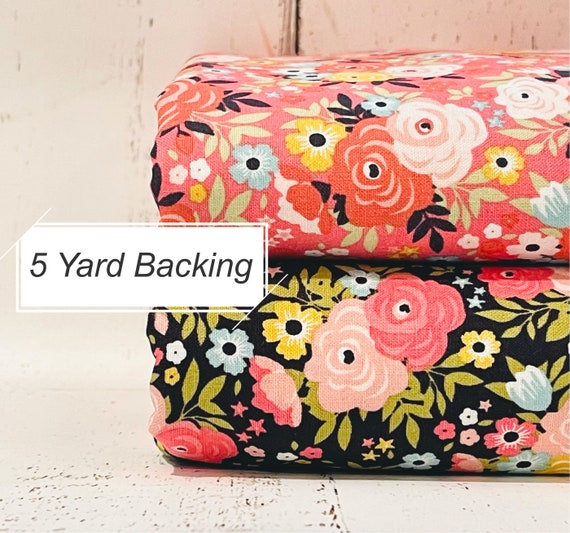 5 Yard Backing- Joy in the Journey- C10681 Floral by Dani Mogstad for Riley Blake Designs