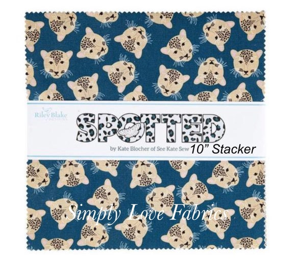"""Spotted - 10"""" Stacker (10-10840-42 Fabrics ) by Kate Blocher for Blake Designs"""