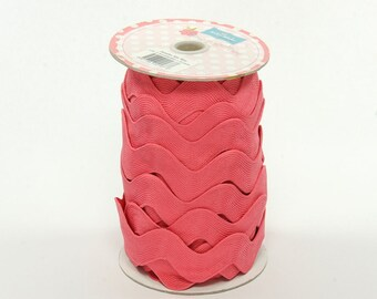 Jumbo Ric Rac-Rouge (5 Yard Bundle) Riley Blake Designs