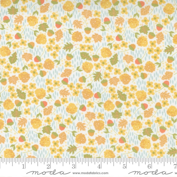Cozy Up- 1/2 Yard Increments, Cut Continuously (29122 21 Scattered Ditsy Cloud Multi) by Corey Yoder for Moda Fabrics