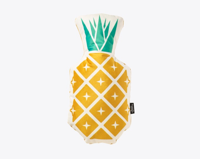 Disco Pineapple Velvet Cushion