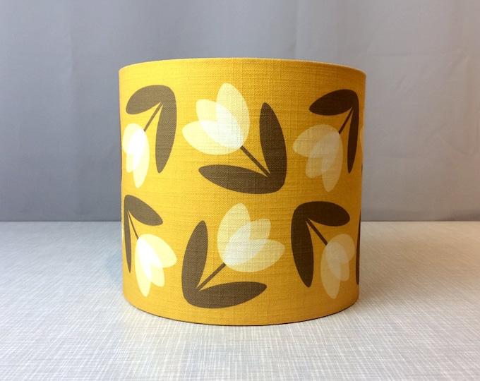 Tulip Lampshade in Yellow