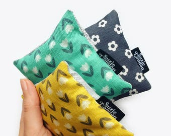 Set of 3 Lavender Bags – Retro Fragrance Sachets by Suzie London