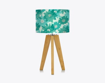 Lily Lampshade in Aqua