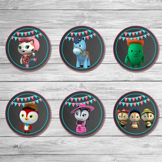 image regarding Sheriff Callie Printable identified as Sheriff Callie Cupcake Toppers Chalkboard - Sheriff Callie Stickers - Sheriff Callie Printables - Sheriff Callie Occasion Favors