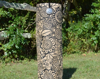 Mesmerizing Blooms- Handmade One of a Kind Yoga Mat Bag