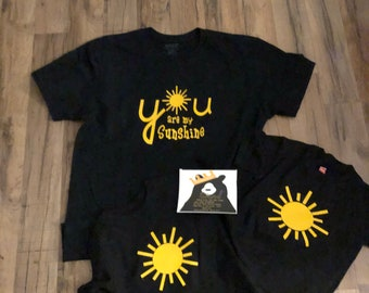 59c5a44435198 you are my sunshine t-shirts |MOMMY and me |Dad son matching shirts | Mon  and Son matching | bff kids | daddy and baby