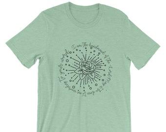 Marian Short-Sleeve Unisex T-Shirt| Catholic Gift | Christian Apparel | Catholic Apparel|