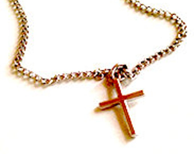 Cross Necklace| Adult and Child size Necklace| Christian Necklace|  Christian Gift| Christ Centered Necklace| Christian Jewelry| Cross