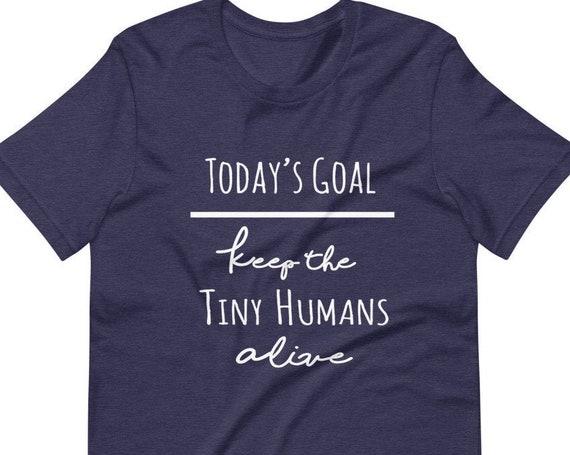 Today's Goal Short-Sleeve Mom T-Shirt  Christian Tee shirt  Catholic Mom Shirt  Mother's Day Gift  Christian Mom Shirt  Mom Tee  Goals