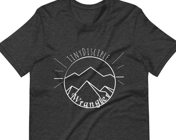 Tiny Disciple Wrangler Short-Sleeve Unisex T-Shirt  Christian Shirt  Wrangler shirt   Tiny Disciple Shirt  Catholic Shirt 