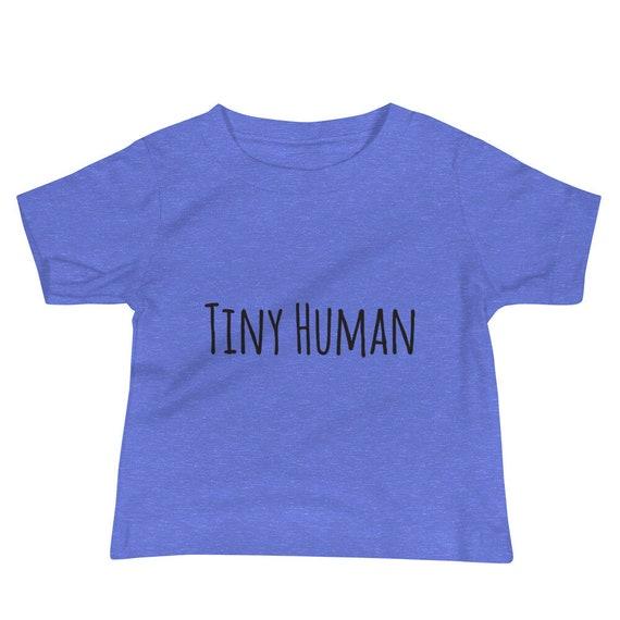 Tiny Human Baby Jersey Short Sleeve Tee  Mom and Me Tee  Mom and baby shirt 