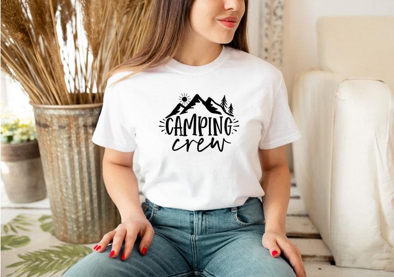 Camping Adventure Gift Camping Shirt Adventure Camping Shirt Camping Crew Shirt Camping Buddie Camper Shirt Mountain Camping T-Shirt