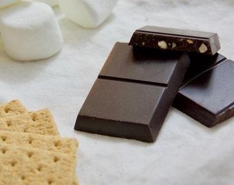 Vegan Chocolate, Gluten-free Chocolate, Soy-free Chocolate, Chocolate Bar Gift, Chocolate with Pecans, Sicilian, Modica Chocolate - PECAN