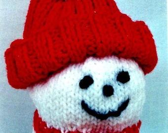 Snowman Jar Topper