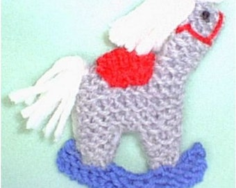 Toy Hobby Horse Ornament