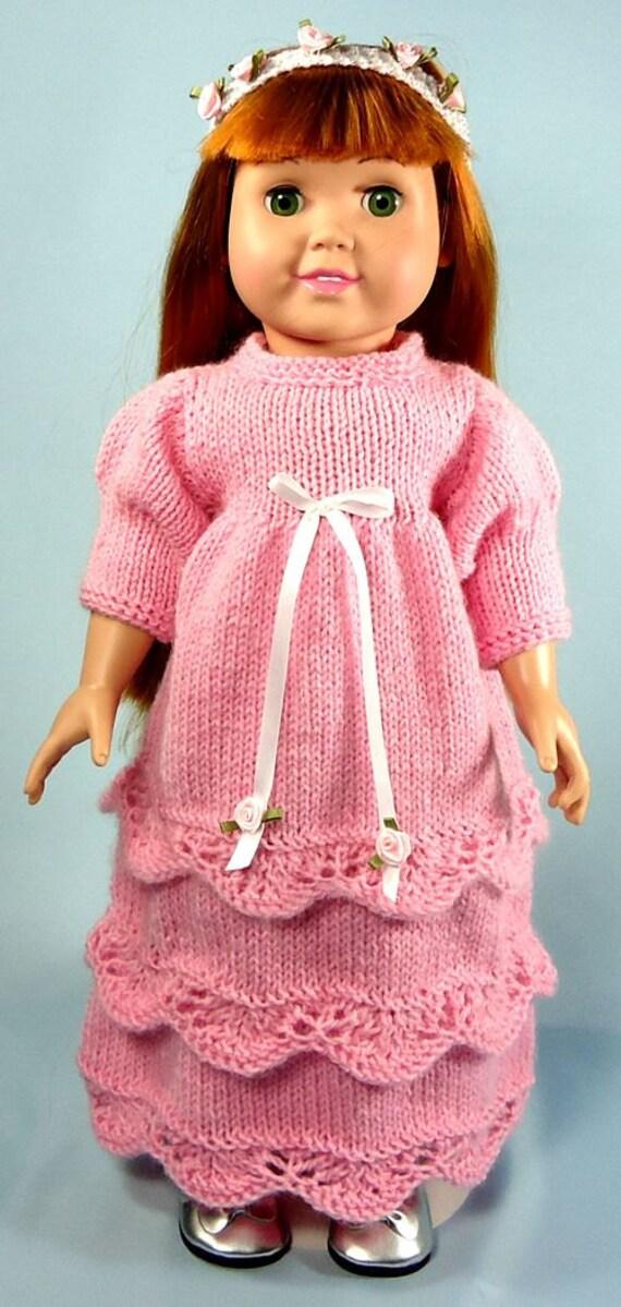 Renaissance Princess Dress Knitting Patterns For 18 Inch Etsy