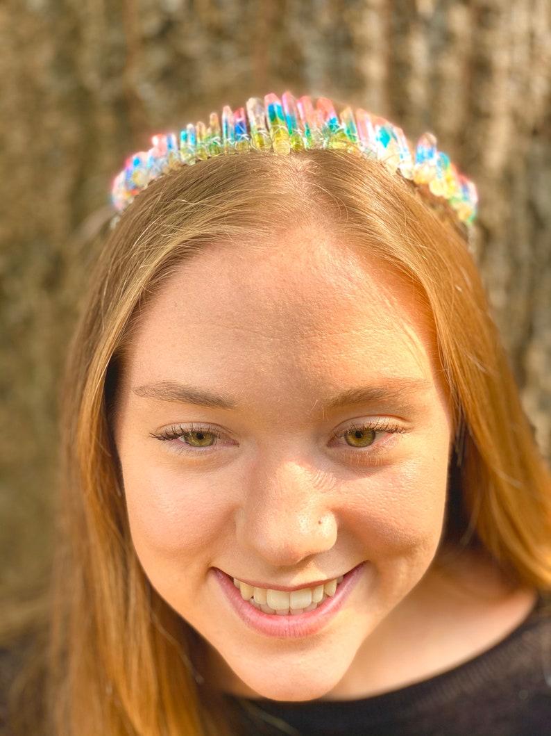 Mermaid Crystal Crown headband