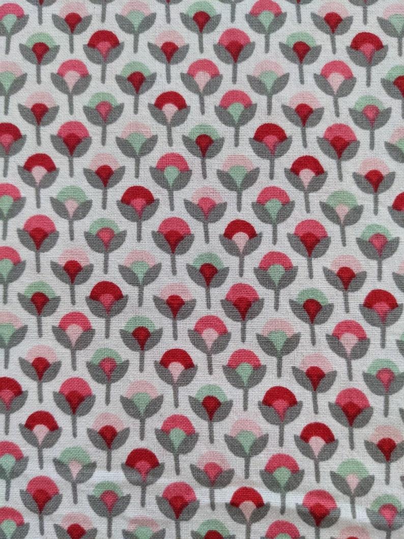 Tulip garden fabric Pre-Wash