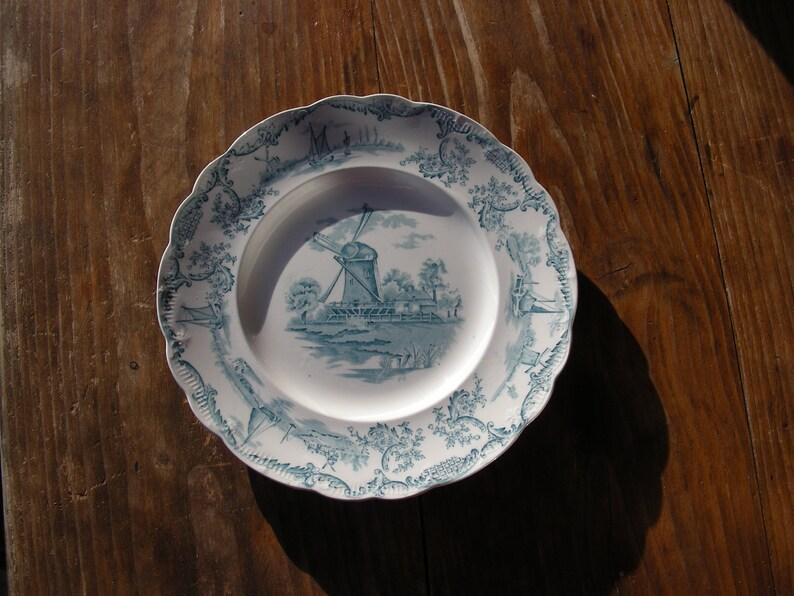 Delph Staffordshire plate