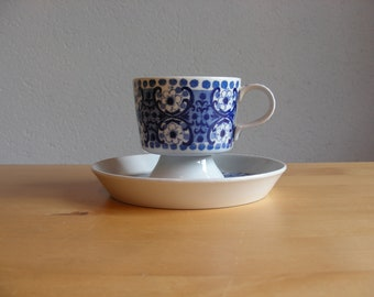 Vintage Arabia Finland Ali cup and saucer