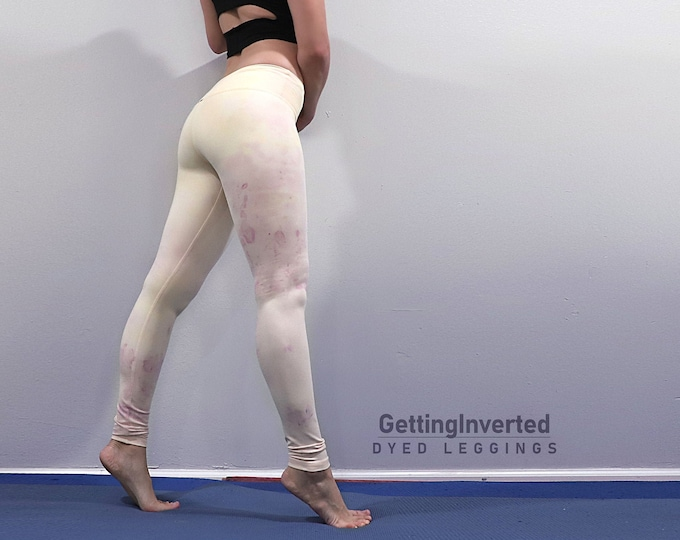 Custom Dyed Yoga Leggings
