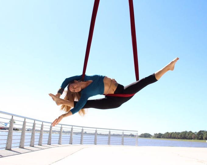 Aerial Yoga Hammock Kits - SOLID COLORS