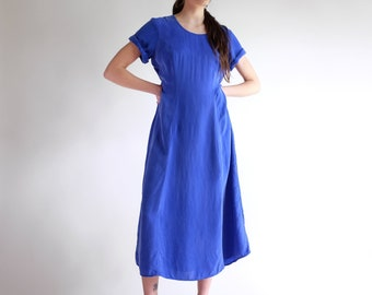 2e064834897 Silky Blue Dress