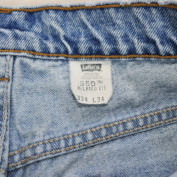 Jeans Size Levis Distressed Jeans 90s 34 Vintage 550 Jeans Boyfriend Levis Levis 90s Mens Faded Levis Jeans Levis Worn Levis Thrashed ww4H0q