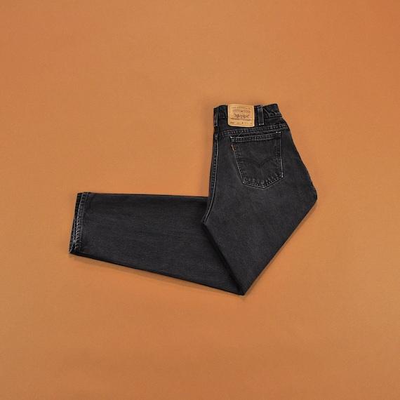 levis 560 mens black jeans
