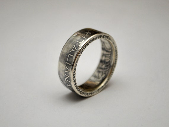 Italian Coin Ring Silver Italy 500 Lire 1961 Rings Made Of Etsy