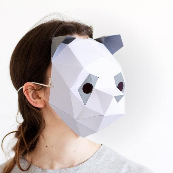 Printable Panda Mask | 570x570