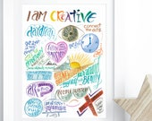 Creativity Wall Art - Ins...