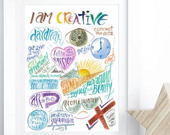 Creativity Wall Art - Inspirational Art