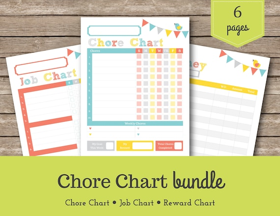 graphic about Printable Allowance Chore Chart referred to as Chore Chart / Sadie / Young children Chore Chart / Printable Chore Chart / Benefit Charts / Children Chores / Allowance Tracker