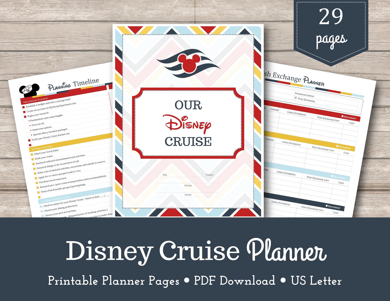 Disney Cruise Planner / Disney Planner / Cruise Planner / | Etsy