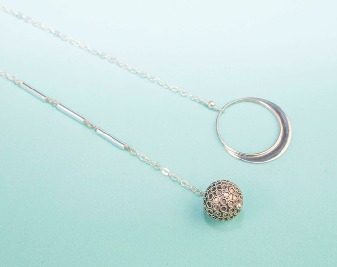 Comet Lariat Necklace