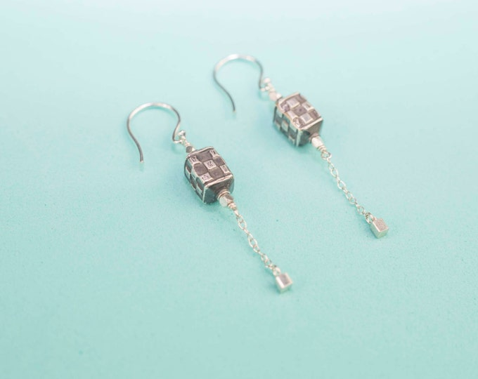 Sacred Square earrings